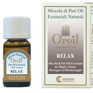 Relax Miscela di Oli essenziali 10 ml