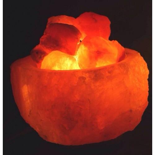 Lampada Braciere Sale Rosa Himalaya