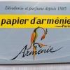 Carta Aromatica Papier d'Arménie Oriente