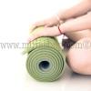 Tappetino MUNI-Yoga Doppia Strato Verde