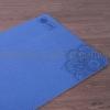 Tappetino MUNI-Yoga Doppia Strato Blu Scuro